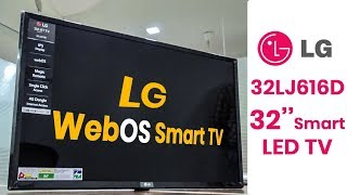 LG 32LJ616D 32 inch Smart TV Review | webOS & Magic Remote Control