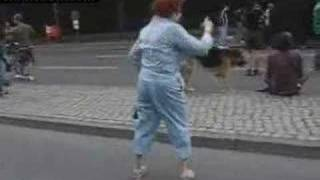 70 year old grandma dancing to walk it out