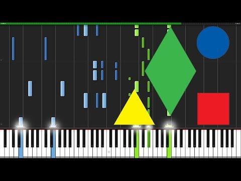 Rather Be - Clean Bandit [Piano Tutorial] (Synthesia) // Zebeldarebel