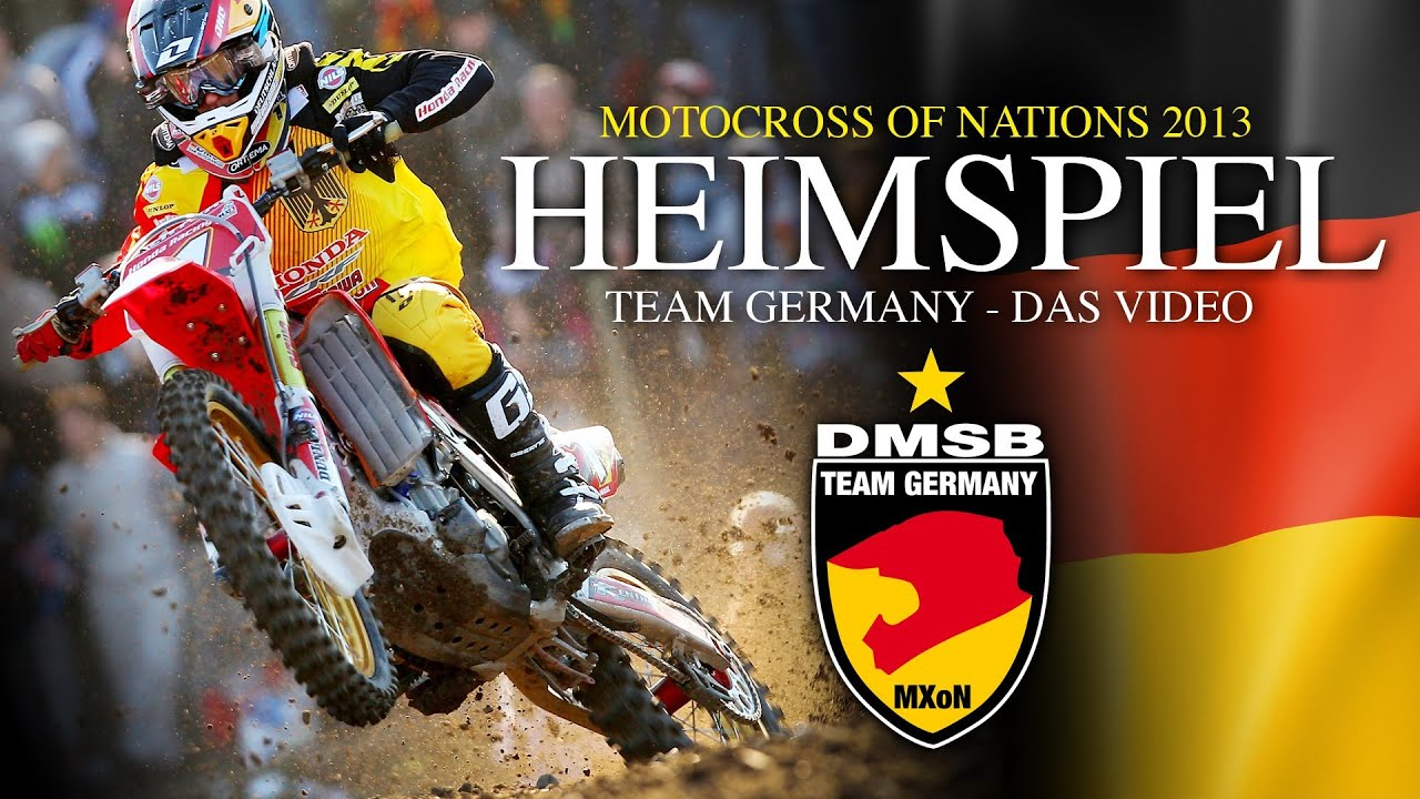 Heimspiel - Team Germany beim Motocross of Nations 2013
