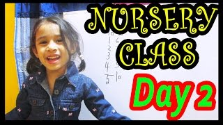 Nursery class teaching | Day 2 | bangla bornomala learning | Toppa