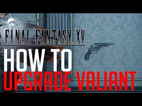 Final Fantasy XV HOW TO UPGRADE VALIANT (EARTH GEMSTONE LOCATION)