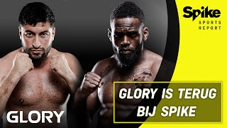 Jamal Ben Saddik over gevecht Rico & Murthel Groenhart gaat voor GLORY-titel | Spike Sports Report