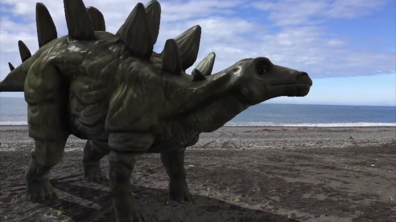 D 142 拡張現実AR 海と恐竜