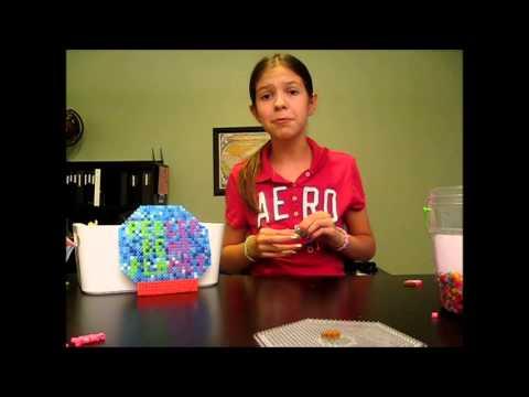 How To Make A Perler Bead Strawberry Ice Cream Cone
