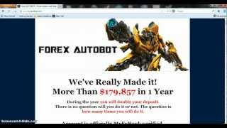 Forex Autobot Review - Before You Buy Forex Autobot