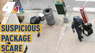 NYC Suspicious Package Scare: Man Sought After Rice Cookers Pop Up Around Manhattan | NBC New York