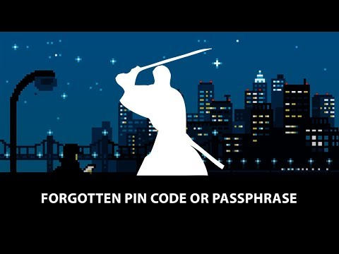 Samourai Wallet Tutorial: Forgotten PIN Or Passphrase