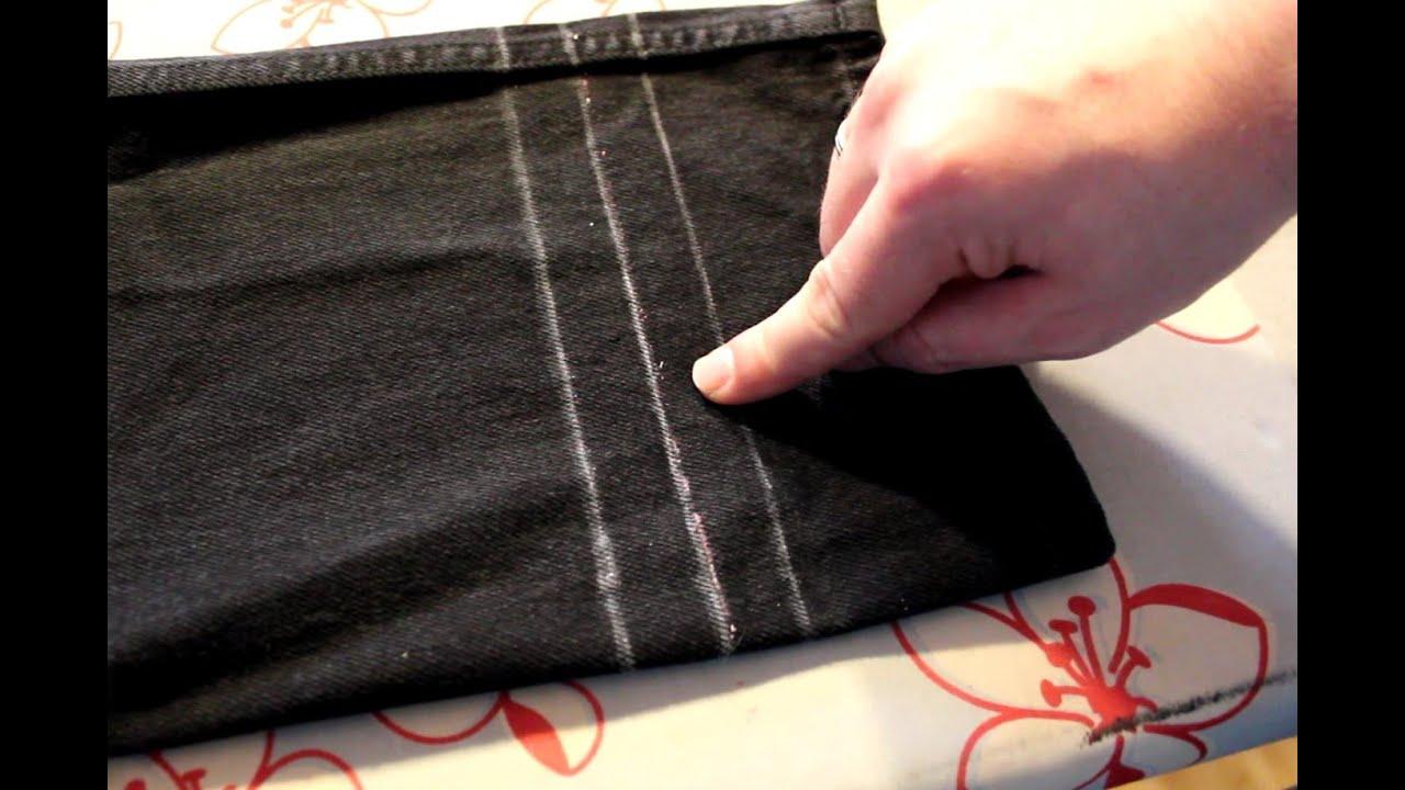 Hose kürzen leicht gemacht | Hose umnähen, Saum hose und
