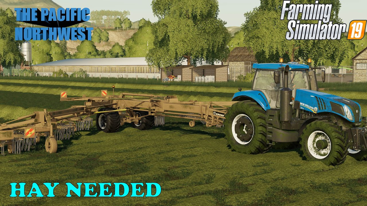 The Pacific Northwest Ep 151     That cotton is piling up     Farm Sim 19
