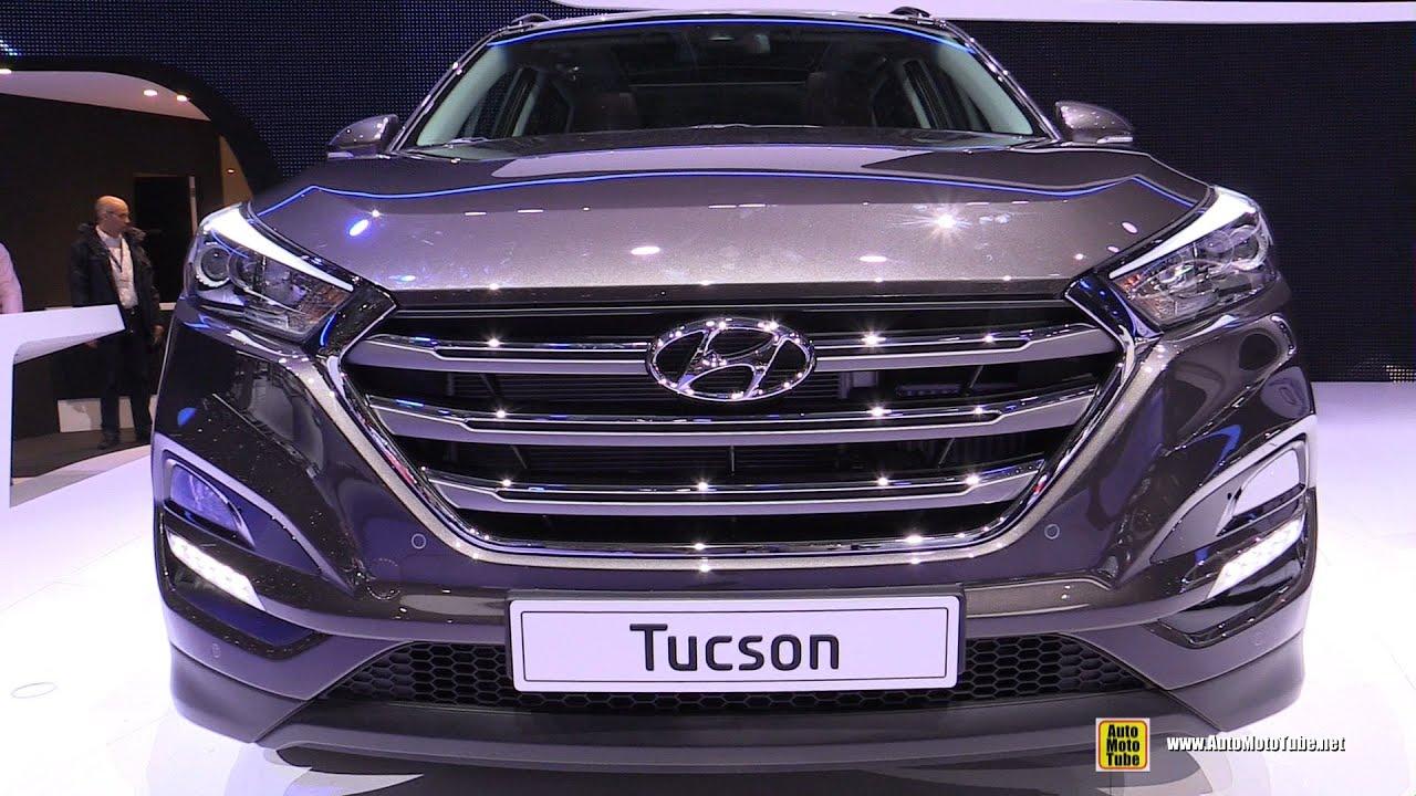 2016 hyundai tucson exterior and interior walkaround - Hyundai tucson interior pictures ...