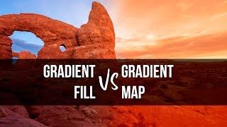 Gradients vs Gradient Maps