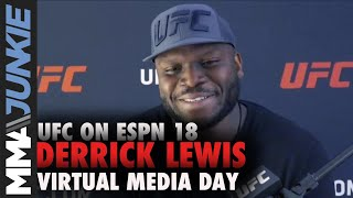 Derrick Lewis calls Curtis Blaydes 'a crab in the bucket' | UFC on ESPN 18 full interview