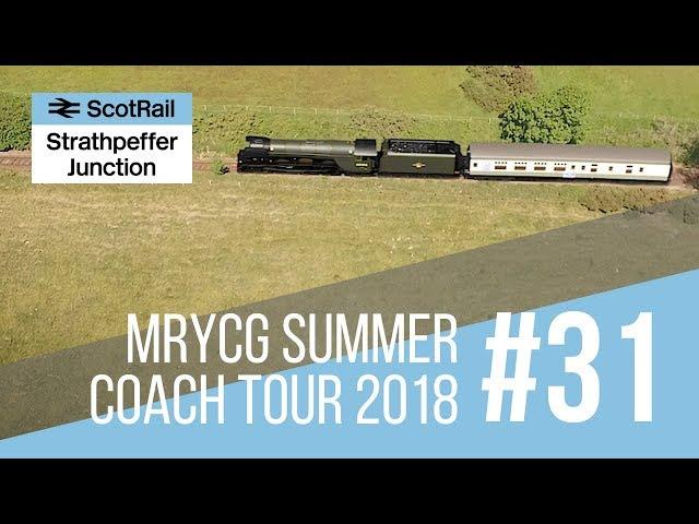 #31 Model Railway YouTube Community Group (MRYCG) Network YouTube Coach Tour (Summer 2018)