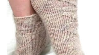CLIP Double Moss Toe Up Sock How to Add Yarn