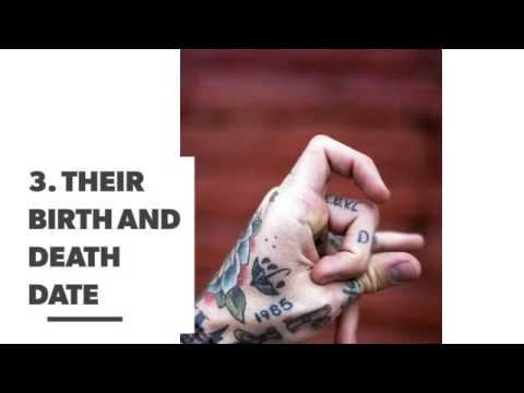In Memory Tattoos For When You Ve Lost A Loved One Youtube