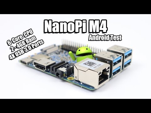 NanoPi M4 6 Core SBC - Overview - Android BenchMarks - Gaming Test