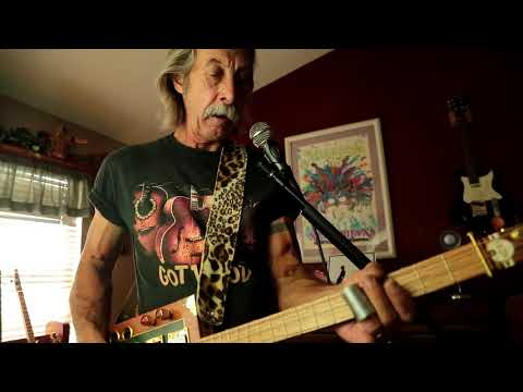 Crossroads Eric Clapton  on 3 string cigarbox guitar