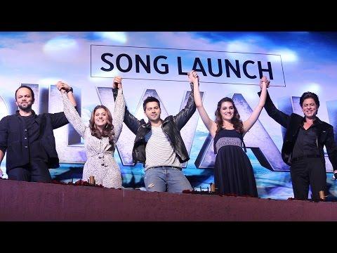 UNCUT - Gerua Song Launch | Shahrukh Khan | Kajol | Varun | Kriti | Rohit | Redchillies