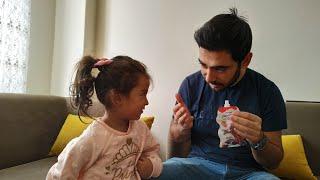 Ayşe Ebrar Babasına Hüptrik Şakası Yaptı. Eğlenceli Çocuk Videosu