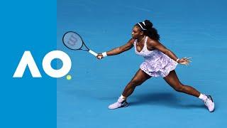 Serena Williams best shots   Australian Open 2020