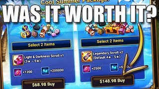 I TEST THE NEW PACK Summoners War