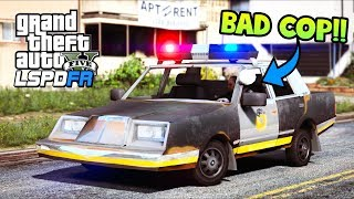 GTA 5 Mods - Bad Cop HATES Fortnite Cop Car!! (LSPDFR Gameplay)