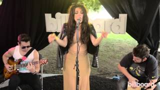 "Bebe Rexha - ""I Can't Stop Drinking About You"" Live Billboard Session @ Lollapalooza 2014"