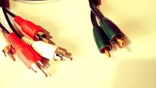 Audioquest Evergreen vs Regular RCA Interconnect Cables : sound comparison test