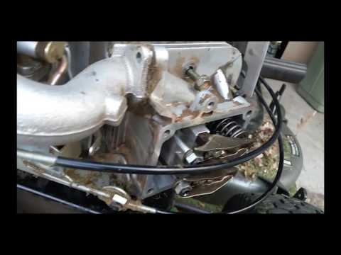 Briggs and Stratton Intek V-Twin Bent Push-rod and Cylinder Head Replacement