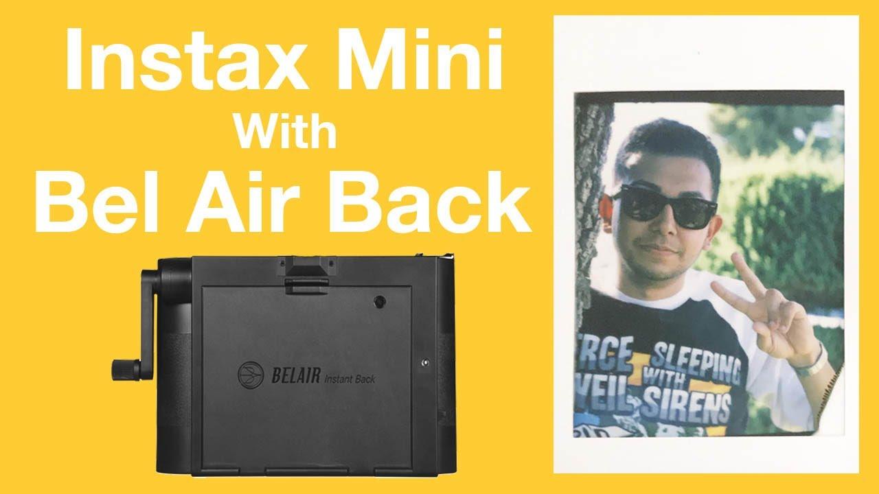 Fujifilm Instax Mini on Lomography Bel Air X6-12 Instant Film Back Polaroid  Miniportait 203