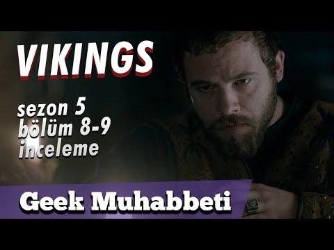 """VIKINGS - Sezon 5 Bölüm 8 ve 9 - """"Acele İşe Loki Karışır"""""""