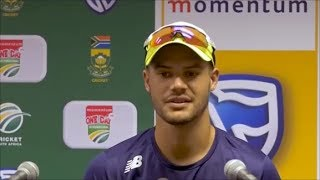 Aiden Markram announced as Stand-In Proteas Captain | Amla & Duminy's Support Always There - Markram