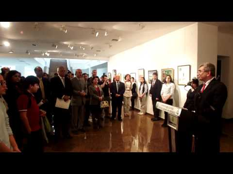 Chughtai Art Award exhibition and prize distribution ceremony at Ankara on 27 April 2012