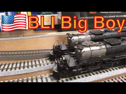 Broadway Limited Union Pacific HO Scale 4-8-8-4 Big Boy Rolling Thunder DCC Sound