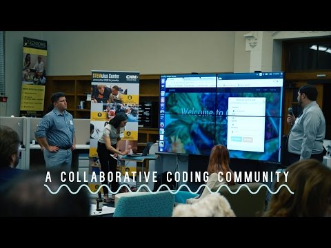 Deep Dive Coding Creates a Collaborative Coding Community in Albuquerque