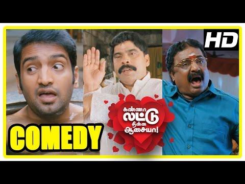 Kanna Laddu Thinna Aasaiya Comedy Scenes | Part 2 | Santhanam | Powerstar Srinivasan | VTV Ganesh