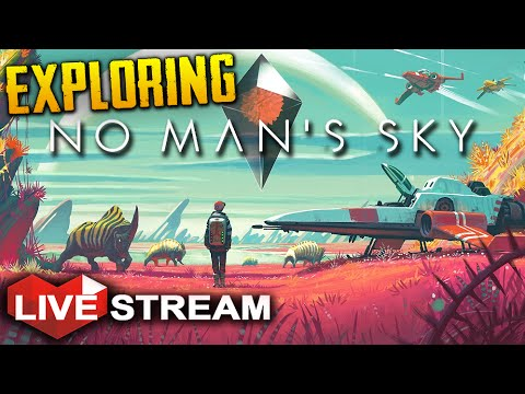 No Man's Sky: Part 1| Exploring a UNIVERSE | Gameplay Live Stream (+ GIVEAWAY)