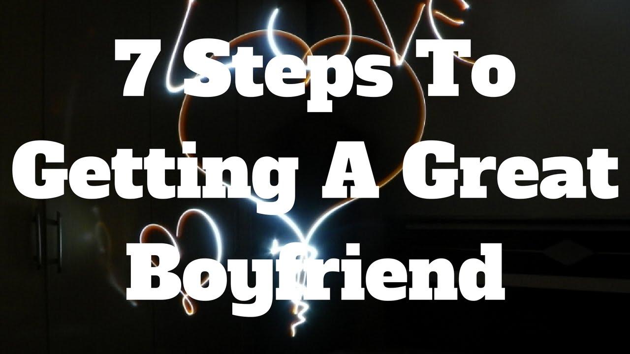 be a great boyfriend