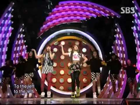 CL & Min Zy - Please don't go @ SBS Inkigayo 인기가요 091129