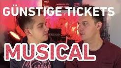 Günstige Tickets fürs Musical (selbst von Stage Entertainment :) )