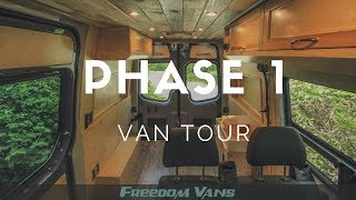 Phase 1 4x4 Sprinter Van Conversion Tour