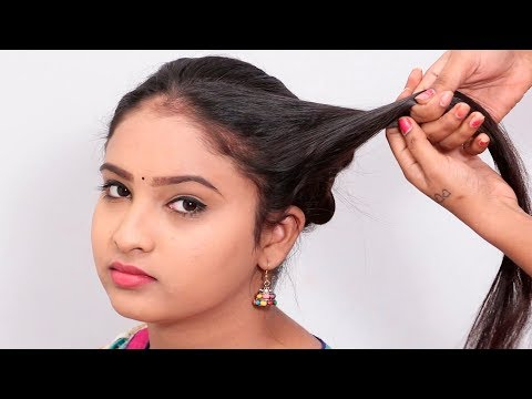 how-to-make-bun-hairstyle-at-home-step-by-step-|-beautiful-bun-hairstyles-|-easy-hairstyles