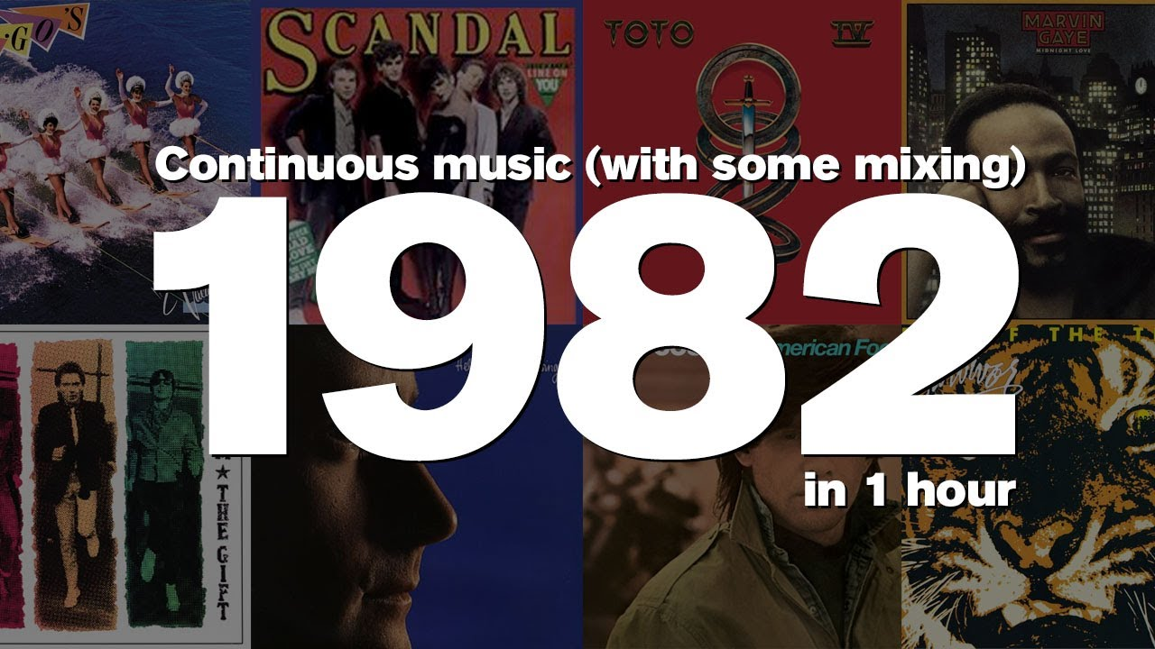 Download 1982 in 1 Hour -Some of the most popular songs of the year.