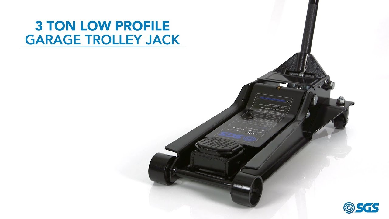 3 Ton Low Profile Garage Trolley Jack