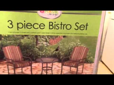 My Free Patio Set From Rite Aid