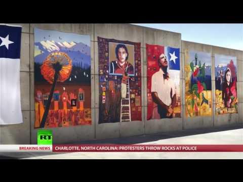 A Mural in Memory of Orlando Letelier