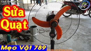 Cách sửa QUẠT ĐIỆN - How to fix the electric fan choke shaft