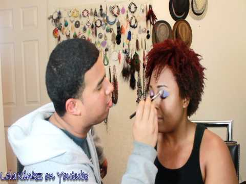 MUA Jesse lol (husband does makeup tag)