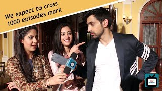 100 episodes celebration with the Arjit, Aditi and Ekroop | Exclusive | TellyChakkar